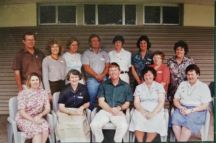 A photo of a group of ICPA past councillors